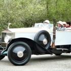 Rolls Royce hunting car