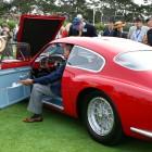 Judging the Maserati 1956 Zagato